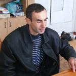 il risponsabile della missione Nicola Sejeda 158